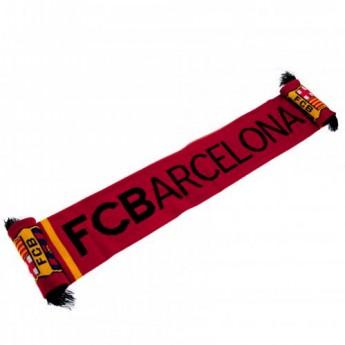 FC Barcelona zimní šála stripe