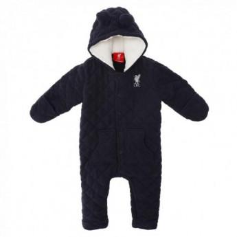 FC Liverpool dětský zimní overal Quilted Snowsuit 9/12 mths