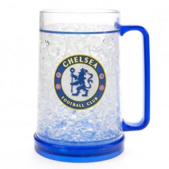 FC Chelsea plastová pivní sklenice winter logo