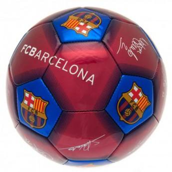 FC Barcelona miniaturní fotbalový míč Football Signature