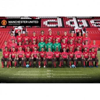 Manchester United plakát Poster Squad 67