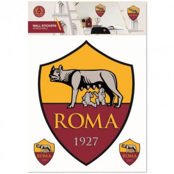 AS Roma samolepky na zeď Wall Sticker A4