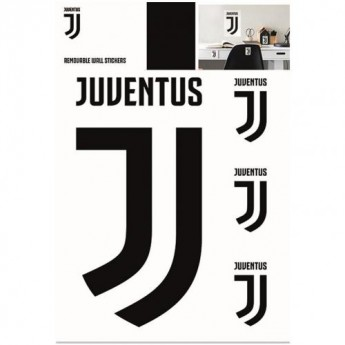 Juventus Turín samolepky na zeď Wall Sticker A4