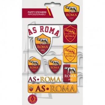 AS Roma samolepky Bubble Sticker Set