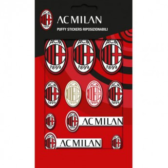 AC Milan samolepky Bubble Sticker Set