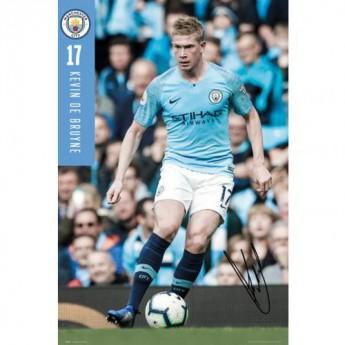 Manchester City plakát Poster De Bruyne 70