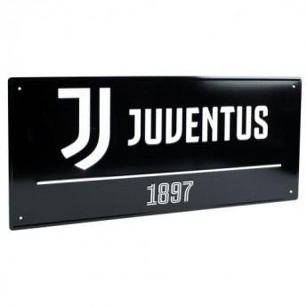 Juventus Turín cedule na zeď Street Sign BK
