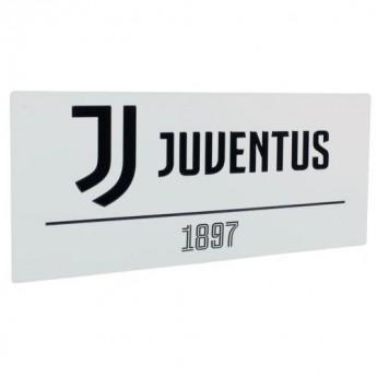 Juventus Turín cedule na zeď Street Sign