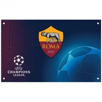 AS Roma vlajka Champions League Flag