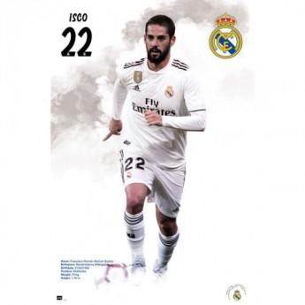Real Madrid plakát Poster Isco 59