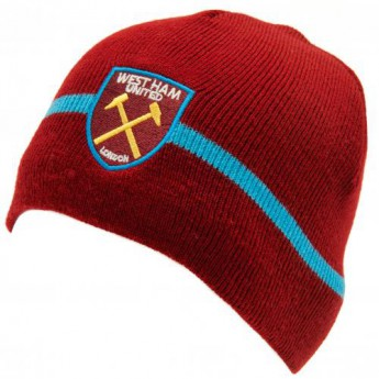 West Ham United zimní čepice Knitted Hat
