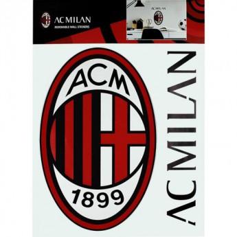 AC Milan samolepky na zeď Wall Sticker A4