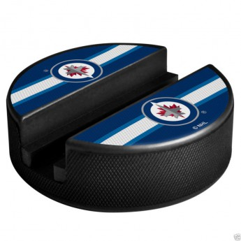 Winnipeg Jets držák na telefon Puck Media Holder