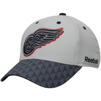 Detroit Red Wings čepice baseballová kšiltovka Crosscheck 2-Tone Structured Flex
