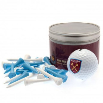 West Ham United golfový set Ball & Tee Set