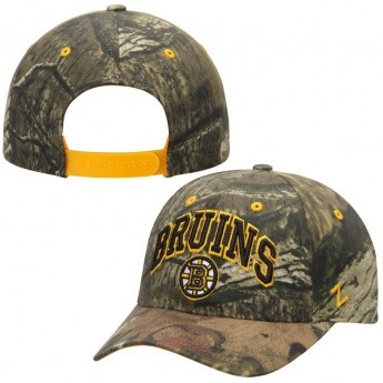 Boston Bruins čepice baseballová kšiltovka Camo Sport Snap Adjustable