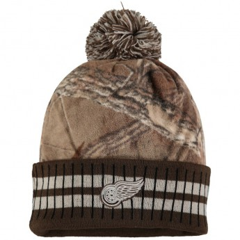 Detroit Red Wings zimní čepice Realtree Cuff Knit