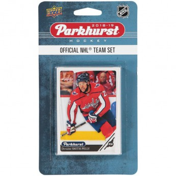 Washington Capitals hokejové karty NHL Upper Deck Parkhurst 2018/19 Team Card Set