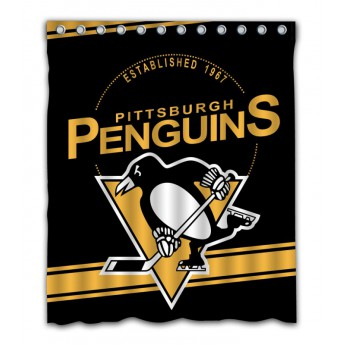 Pittsburgh Penguins závěs do sprchy Shower Curtain