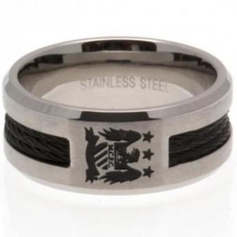 Manchester City prsten Black Inlay Ring Small EC