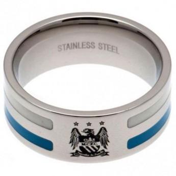 Manchester City prsten Colour Stripe Ring Small EC