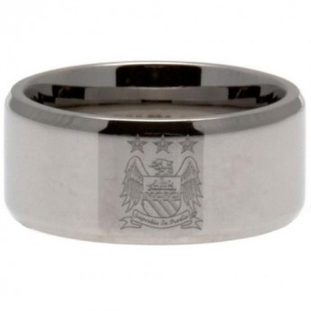 Manchester City prsten Band Ring Large EC