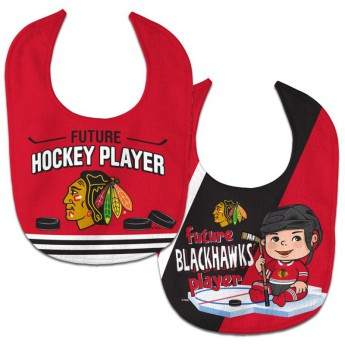 Chicago Blackhawks dětský bryndák WinCraft Future Hockey Player 2 Pack