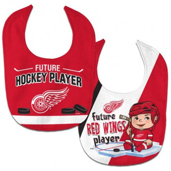 Detroit Red Wings dětský bryndák WinCraft Future Hockey Player 2 Pack