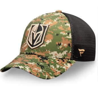 Vegas Golden Knights čepice baseballová kšiltovka Authentic Pro Military Appreciation Speed Flex