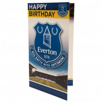 FC Everton narozeninové přání Birthday Card