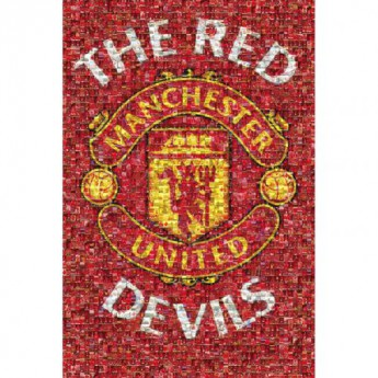 Manchester United plakát Mosaic 21