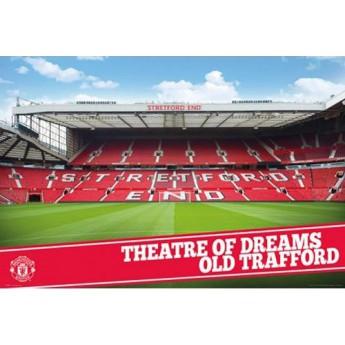 Manchester United plakát old Trafford