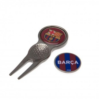 FC Barcelona set vypichovátka a markeru Divot Tool & Marker CT