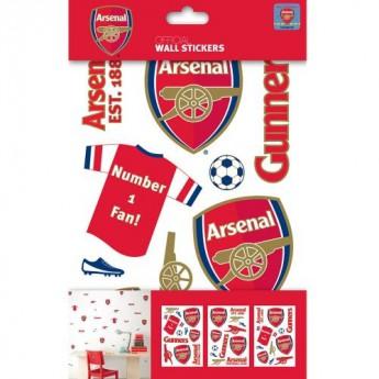 FC Arsenal velké samolepky 3ks