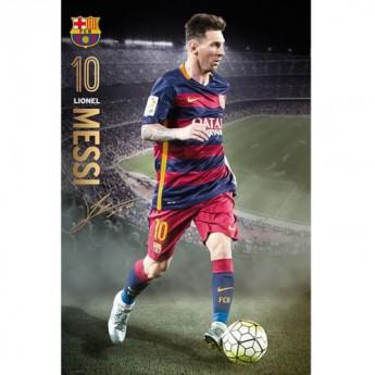 FC Barcelona plakát Messi 92
