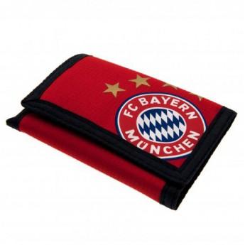 Bayern Mnichov peněženka red logo
