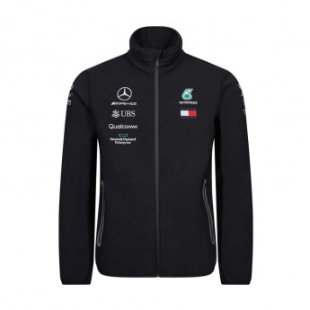 Mercedes AMG Petronas pánská bunda black softshell F1 Team 2019
