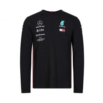 Mercedes AMG Petronas pánské tričko s dlouhým rukávem black F1 Team 2019