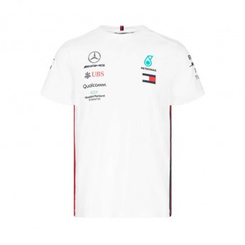 Mercedes AMG Petronas pánské tričko white F1 Team 2019