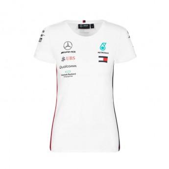 Mercedes AMG Petronas dámské tričko white F1 Team 2019