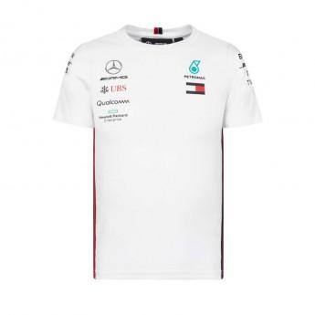 Mercedes AMG Petronas dětské tričko white F1 Team 2019