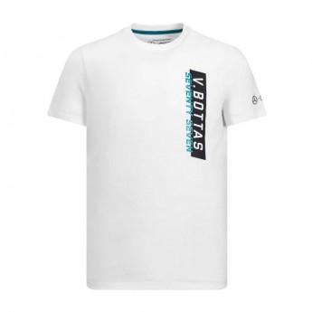 Mercedes AMG Petronas pánské tričko white Bottas 77 F1 Team 2019