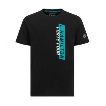 Mercedes AMG Petronas dětské tričko black Hamilton F1 Team 2019