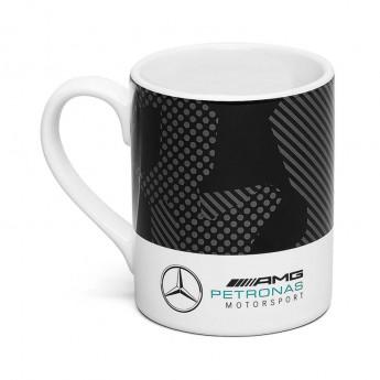 Mercedes AMG Petronas hrníček Camo black/white F1 Team 2019