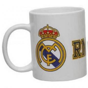 Real Madrid hrnek keramický bianco
