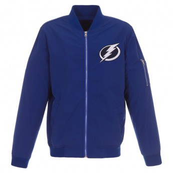Tampa Bay Lightning pánská bunda blue JH Design Lightweight Nylon
