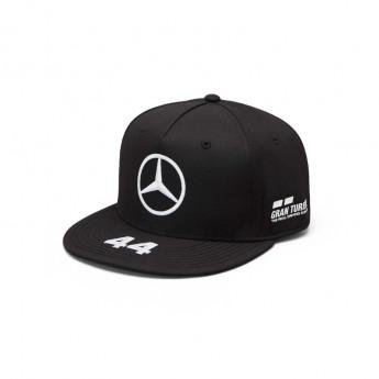 Mercedes AMG Petronas čepice flat kšiltovka black Brim Lewis Hamilton F1 Team 2019