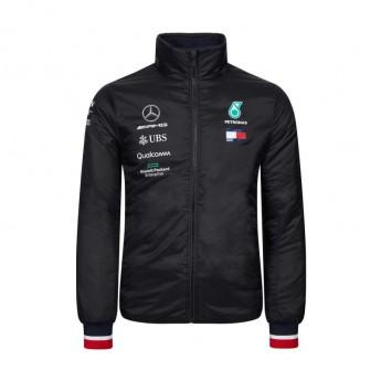 Mercedes AMG Petronas pánská bunda black Padded F1 Team 2019