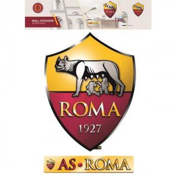 AS Roma samolepky large wall sticker set