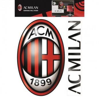 AC Milan samolepky large wall sticker set